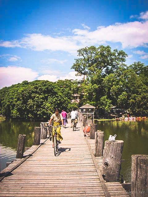 ウー・ベイン橋 マンダレー アマラプラ 木の橋