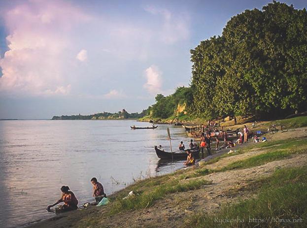 バガン エーヤワディー川