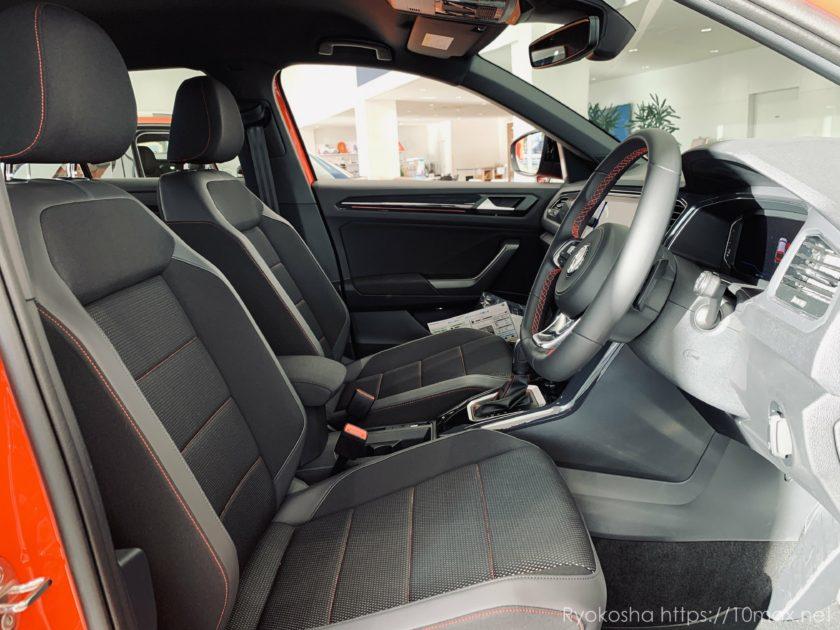 T-Roc 運転席 前席