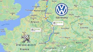 フランスからドイツへ国境を跨いで景色はどう変わったか – プジョーからVWに乗り換えた2020年を振り返る