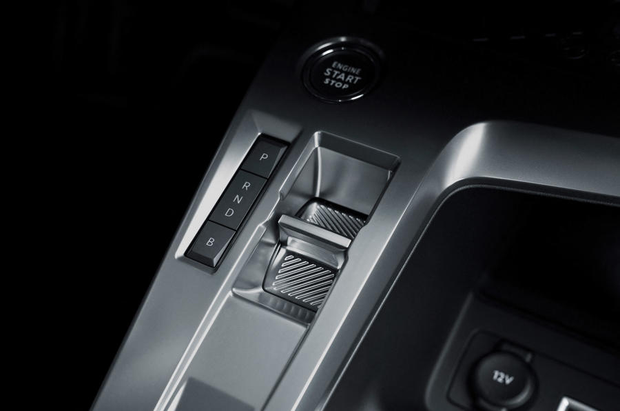 プジョー 308 新型 2021年 2022年 シフトレバー スイッチ