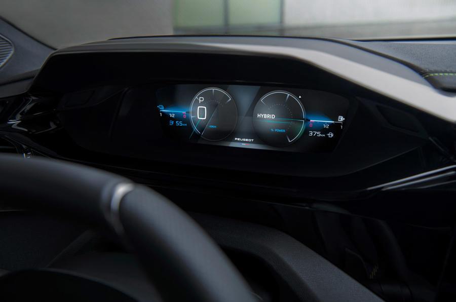 プジョー 308 新型 2021年 2022年 インテリア コックピット インフォテイメント