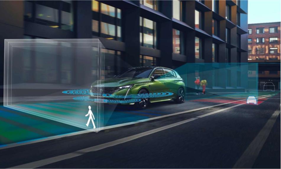 プジョー 308 新型 2021年 2022年 ADAS 先進運転支援システム