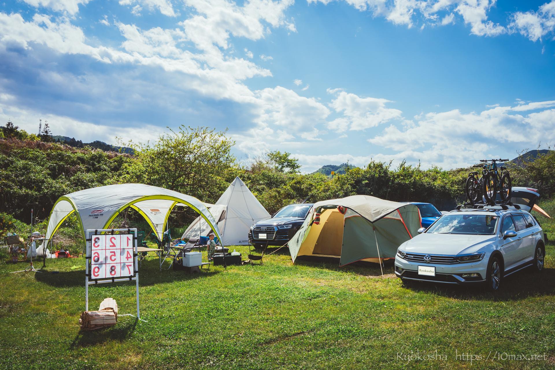 上小川キャンプ場 茨城県 キャンプレポート ブログ