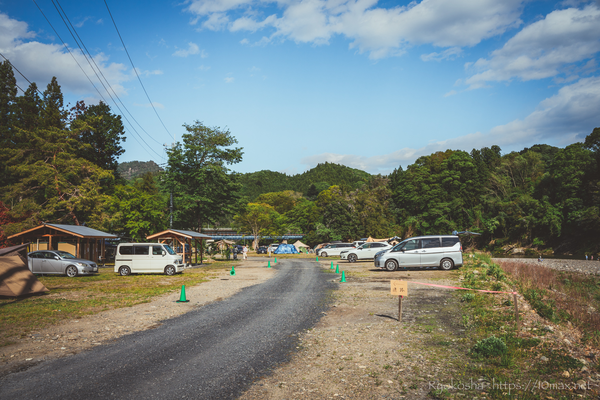 上小川キャンプ場 茨城県 テントサイト