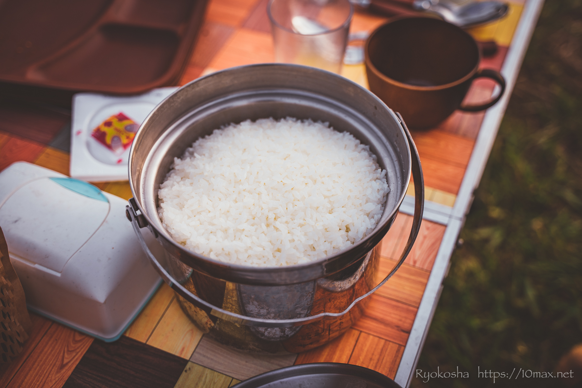 上小川キャンプ場 キャンプレポ キャンプ飯 スープカレー