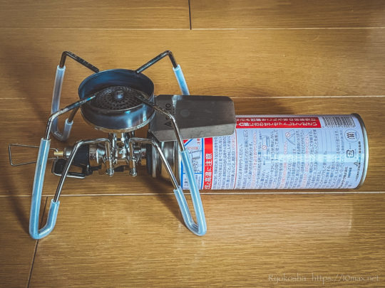 SOTO ST-310 レギュレーターストーブ ダイソー ペットボトルカバー ガスボンベカバー