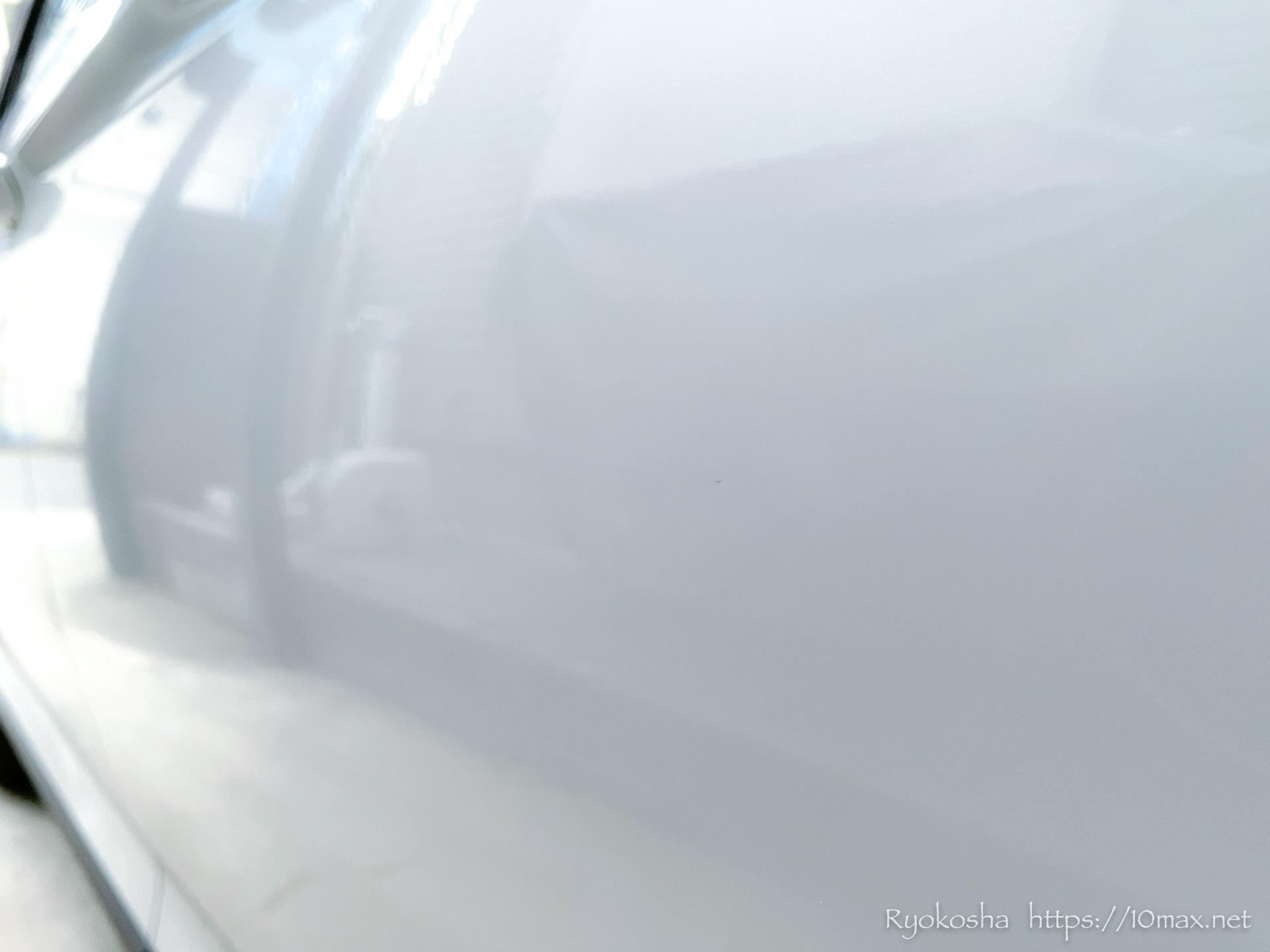 デントリペア 車 凹み 傷 施工後
