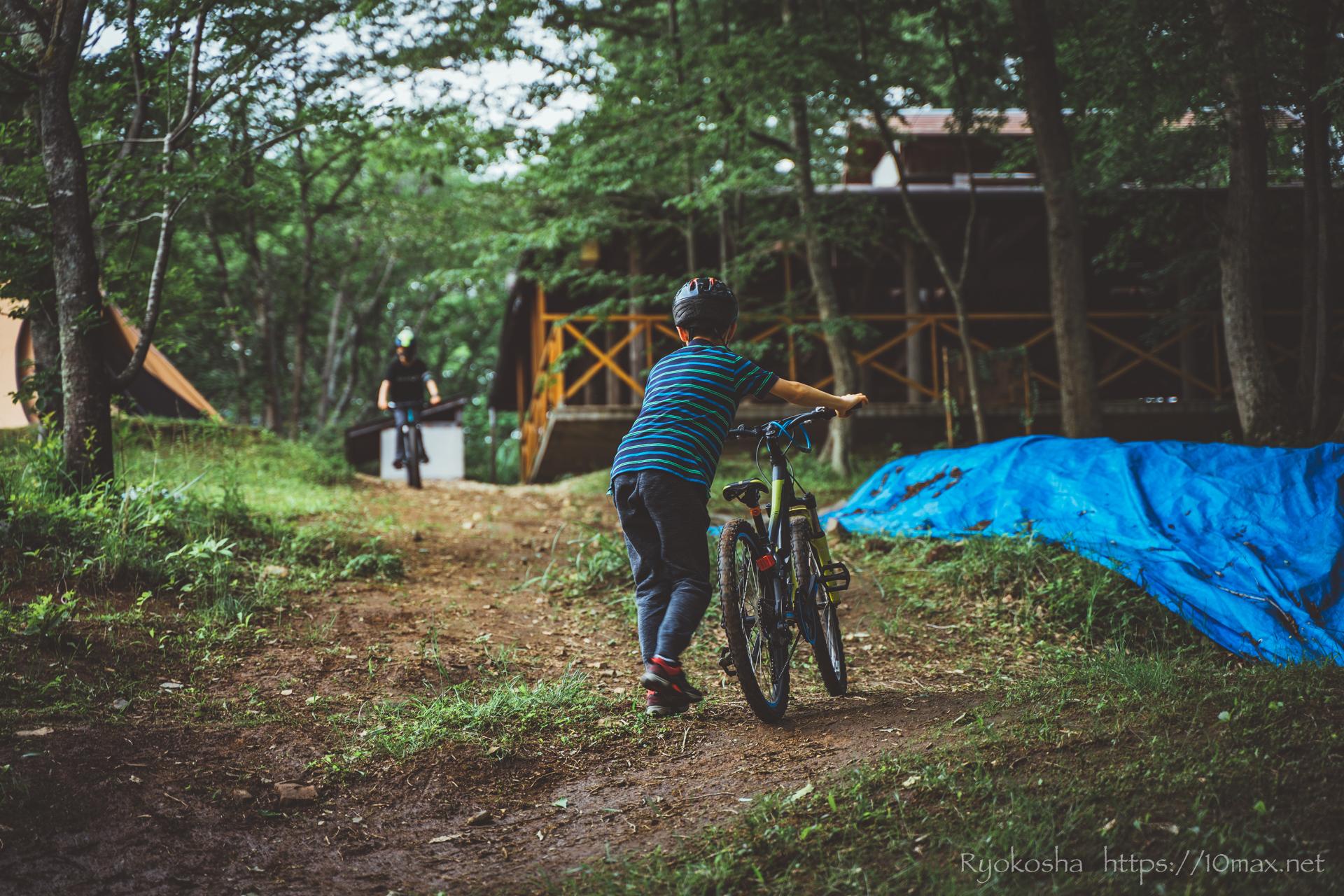 フォレストピア七里の森 コテージ MTBダウンヒルコース