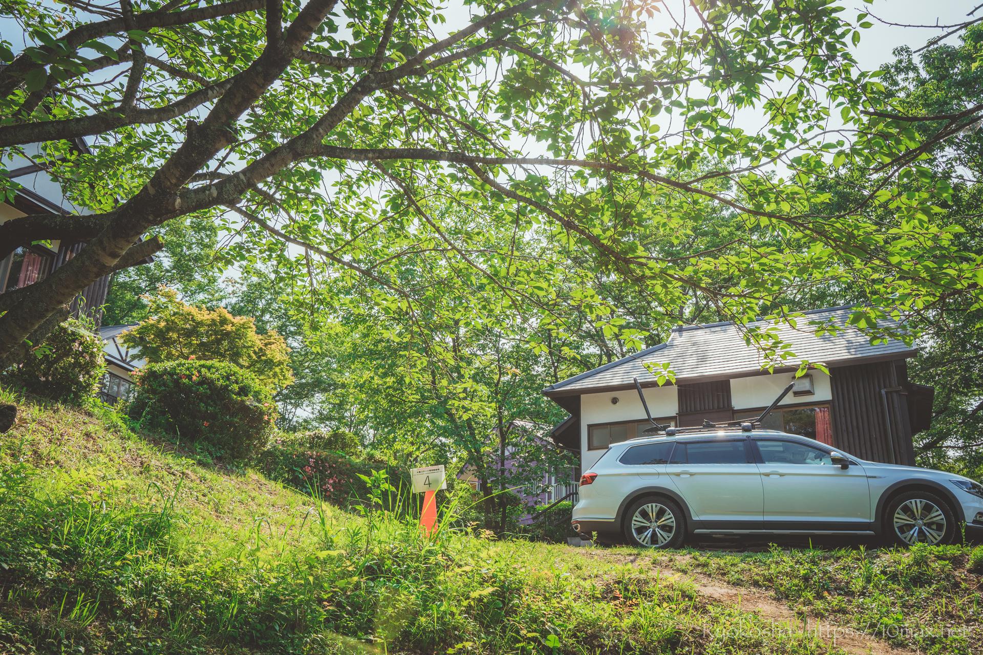 フォレストピア七里の森 コテージ MTBダウンヒル