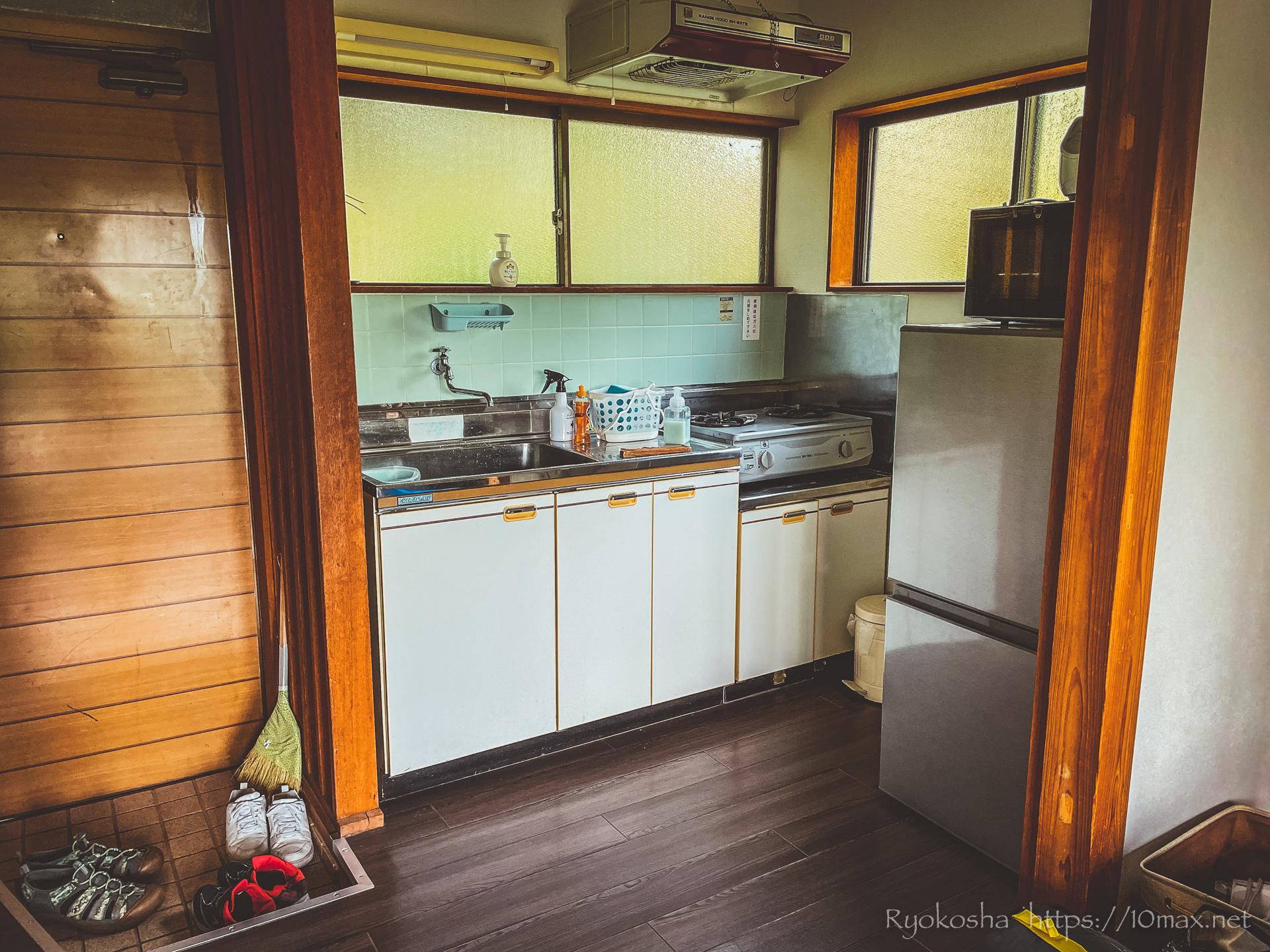 フォレストピア七里の森 コテージ キッチン
