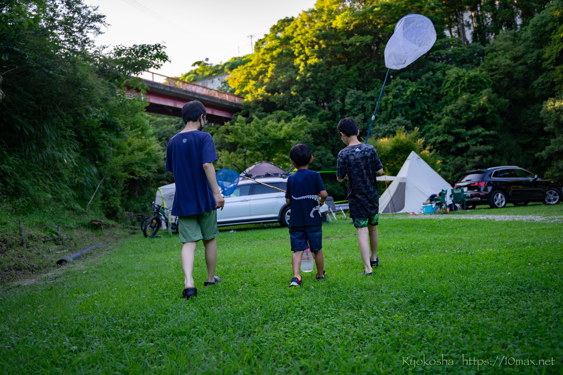 オートキャンプ七里川 千葉 川遊び キャンプレポ