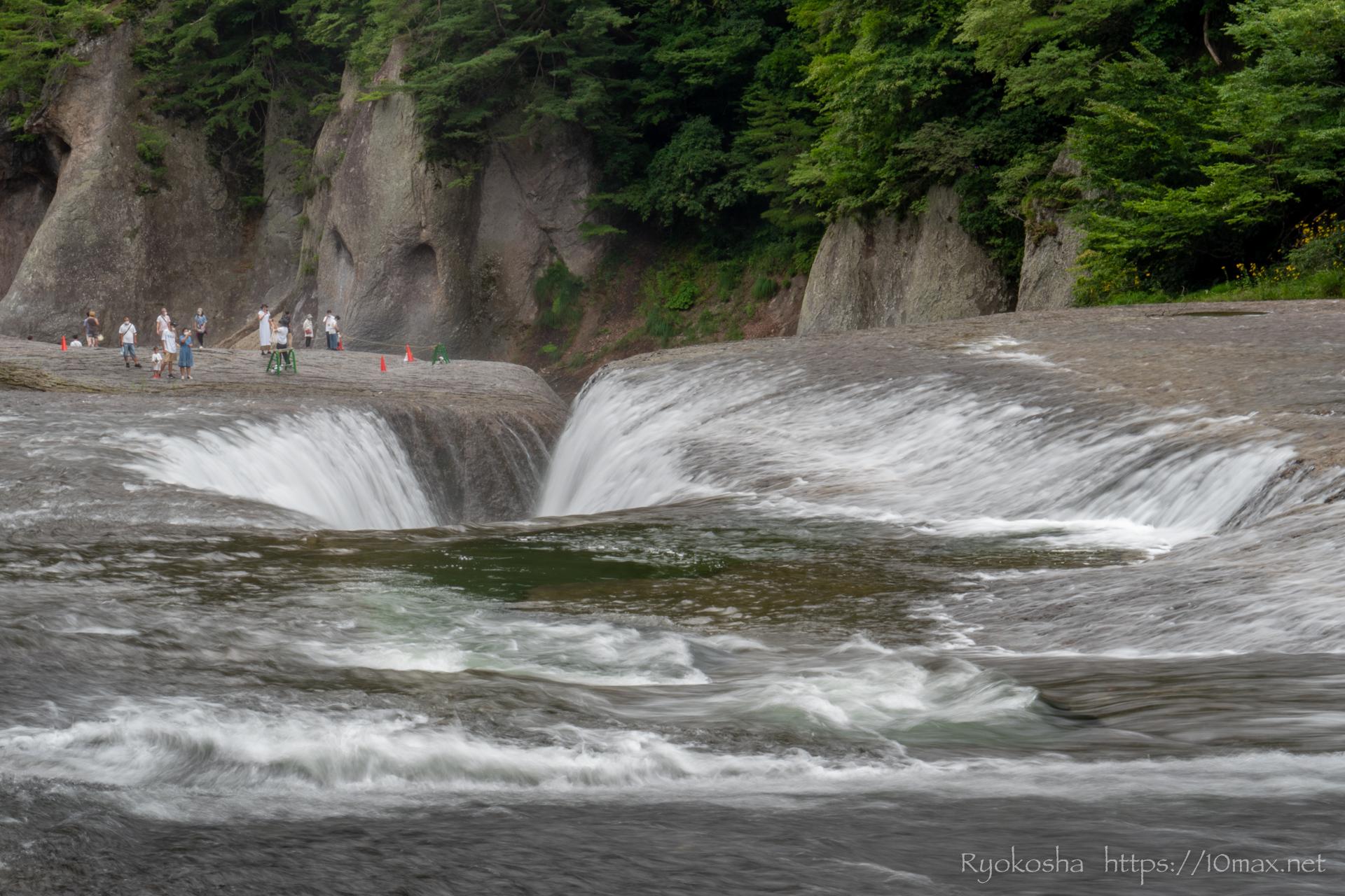 群馬県 沼田市 吹割の滝 東洋のナイアガラ