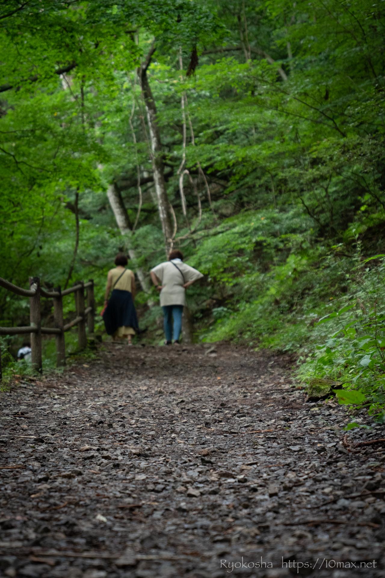 群馬県 沼田市 吹割の滝 東洋のナイアガラ 遊歩道