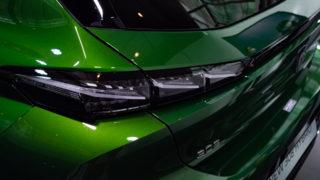 【実車写真50枚で見る内外装】新型プジョー308日本初公開@LION EXPERIENCE 2021 – オリビングリーンの誘惑と向き合う覚悟はあるか