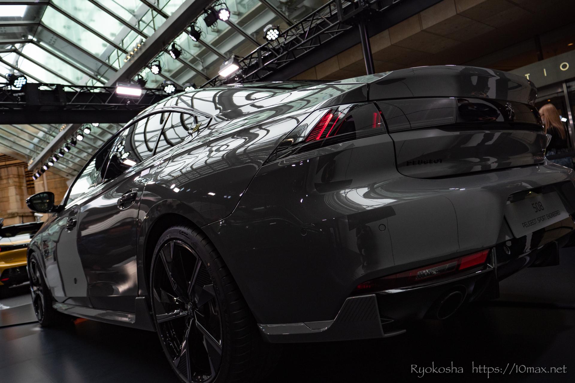 プジョー 508 PSE Peugeot Sport Engineering LION EXPERIENCE 2021 六本木ヒルズ 実車 写真