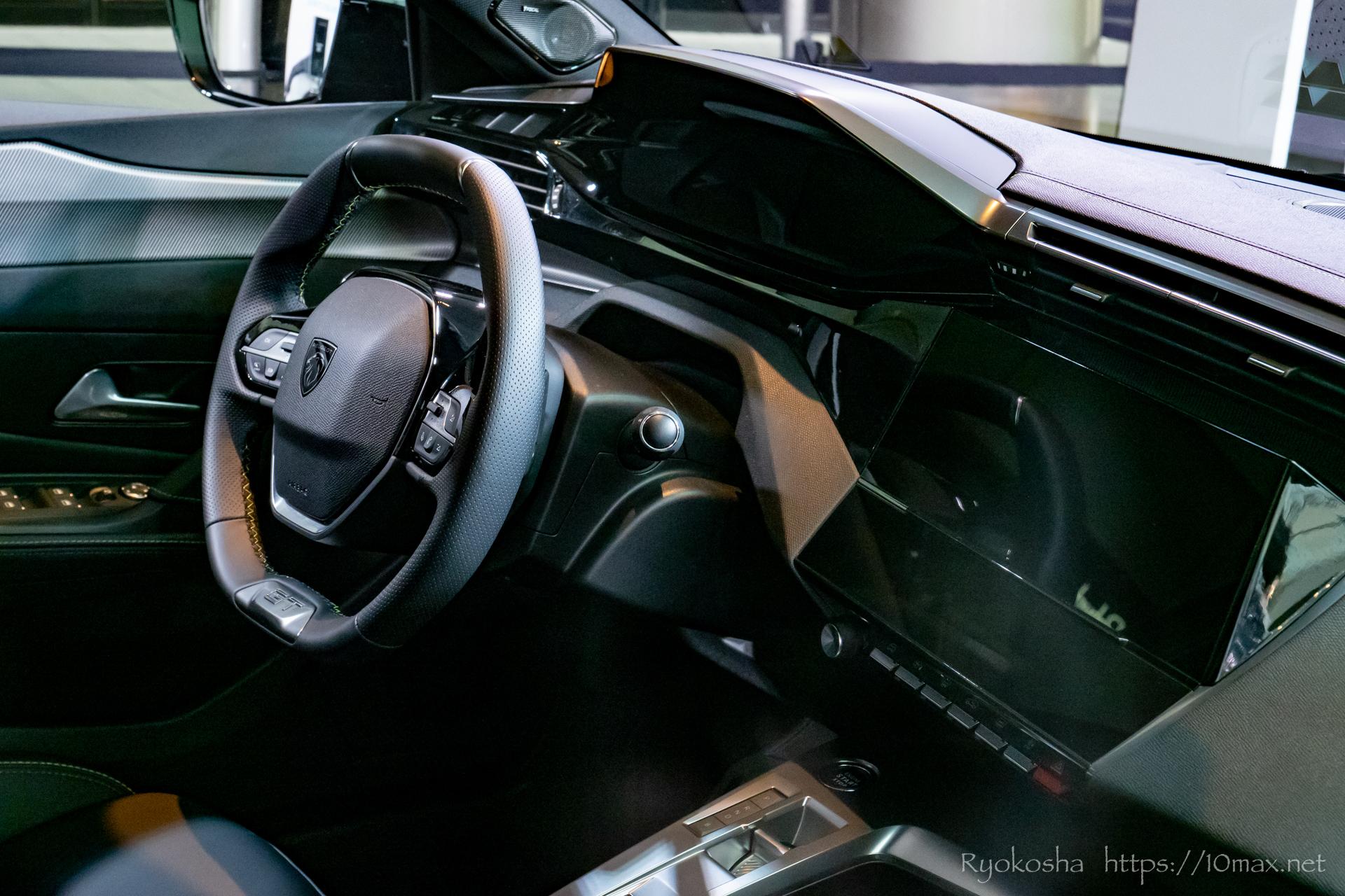 プジョー 308 新型 LION EXPERIENCE 2021 六本木ヒルズ 実車 写真 内装 インテリア